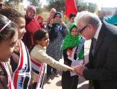 محافظ جنوب سيناء يعلن افتتاح 7 مدارس فى العيد القومى للمحافظة