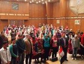 طلاب جامعة بنها يطالبون بالقصاص السريع من أعداء الوطن بالداخل والخارج