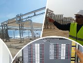 """""""شمس الطاقة تشرق بالساحل"""".. """"اليوم السابع"""" داخل محطة الخلايا الشمسية المركزة ببرج العرب قبل افتتاحها.. الأولى فى العالم لإنتاج ميجا وات كهرباء و250 متر مياه يوميا.. وتعاون مصرى إيطالى لنقلها بـ22 مليون يورو"""