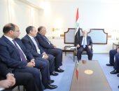 """العبادى لـ""""سامح شكرى"""": نقدر الدور المصرى الداعم للدولة العراقية"""