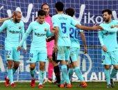 برشلونة يتراجع خلف أتلتيكو مدريد فى ترتيب الدورى الإسبانى 2018