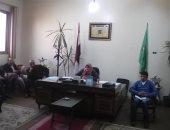 رئيس مدينة الشهداء تناقش مع رؤساء الوحدات الاستعداد والتجهيز للانتخابات الرئاسية المقبلة
