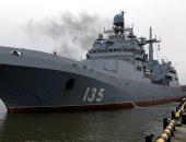 سفينة حربية روسية تصل إلى البحر المتوسط لتعزيز القوات العاملة هناك