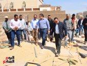 صور.. وزير الآثار ومحافظ الأقصر يقودان جولات علي المشروعات الفرعونية