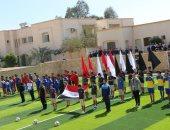 صور.. محافظ جنوب سيناء يفتتح دورى المدارس لكرة القدم