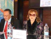 ليلى طاهر تحضر المؤتمر الصحفى لمهرجان شرم الشيخ (صور)