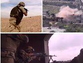 فيديو.. القوات المسلحة: مقتل 4 عناصر تكفيرية شديدى الخطورة فى العملية سيناء 2018