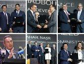 وزراء ورجال أعمال فى حفل bt100 لتكريم الأكثر تأثيراً فى الاقتصاد المصرى