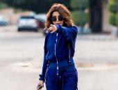 الديفا سميرة سعيد تتألق فى جلسة تصوير جديدة