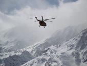 صور.. استئناف عمليات البحث عن الطائرة المفقودة فى إيران