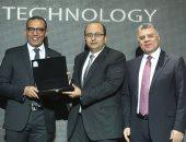 """تكريم رئيس شركة """"سيكو"""" فى احتفالية Business Today على إنتاج أول موبايل مصرى"""