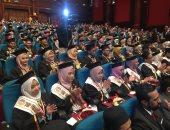 رئيس جامعة طنطا ومحافظ الغربية يشاركان فى تخريج الدفعة السادسة للطلاب الماليزيين