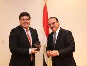 وزير الاتصالات يستقبل وزير الدولة البرتغالى للعولمة لبحث التعاون الاقتصادى