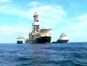 فيديو.. القوات البحرية تؤمن حقل ظهر والأهداف الحيوية فى عمق المياه المصرية
