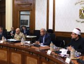 بدء اجتماع الحكومة الأسبوعى لمتابعة ملف توفير الغطاء التأمينى للعمالة الحرة  (صور)