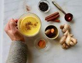 صحتك فى وصفة.. حليب الكركم يقوى المناعة ويعالج نزلات البرد