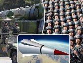 """الصاروخ """"DF-21D"""".. ورقة الصين للسيطرة على جزر """"البحر الجنوبى"""".. تقارير: يشكل تهديدا مباشرا لحاملات الطائرات الأمريكية.. مداه يتجاوز 2700 كم.. قوته 300 كيلو نيوتن ويفوق سرعة الصوت.. وقادر على حمل رؤوس نووية"""