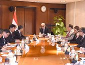 """بدء لقاء رئيس الوزراء برئيس الوكالة اليابانية للتعاون الدولى """"الجايكا"""" (صور)"""