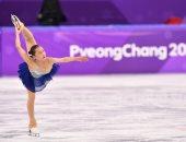 صور.. إثارة ومهارة فى منافسات التزحلق على الجليد بدورة الألعاب الشتوية