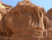 """صور.. اكتشاف منحوتات """"جمال"""" عمرها 2000 عام فى السعودية"""