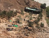 إصابة 20 شخصا إثر انقلاب حافلة سياحية غرب روسيا