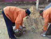 رئيسة مدينة الشهداء تتابع سير العمل بمنظومة النظافة والتجميل