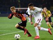 فيديو.. شاختار يقلب الطاولة على روما ويهزمه 2 -1 فى دورى أبطال أوروبا