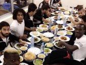 شاهد.. حفل عشاء لاعبى المصرى بعد التأهل لدور الـ32 بالكونفدرالية