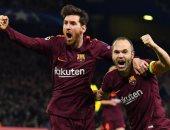 إنيستا يقترب من المشاركة فى مباراة برشلونة وتشيلسى
