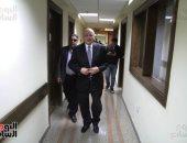 فيديو وصور.. موسى مصطفى موسى يصل الهيئة الوطنية للانتخابات لاختيار الرمز الانتخابى