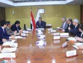 """وزير النقل يبحث مع وفد هيئة """"الجايكا"""" اليابانية التعاون فى مشروعات المترو"""