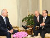 صور.. السيسى يتسلم رسالة من رئيس أذربيجان تؤكد قوة العلاقات مع مصر