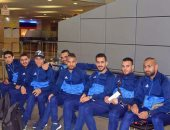 بعثة المصرى تصل مطار القاهرة بعد تخطى عقبة جرين بافالوز