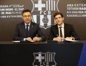 برشلونة يجدد عقد روبيرتو 3 سنوات بشرط جزائى 400 مليون يورو