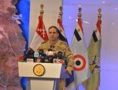 المتحدث العسكرى ينشر فيديو افتتاح الرئيس قيادة قوات شرق القناة لمكافحة الإرهاب