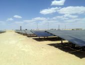 """صور..""""الكهرباء"""": ربط محطة سيوة الشمسية بالشبكة بتكلفة 240 مليون جنيه"""