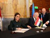 توقيع بروتوكول ومذكرتى تفاهم فى اللجنة المصرية الأذربيجانية.. صور