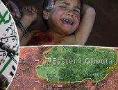 كل ما تريد أن تعرف عن الأحداث فى الغوطة الشرقية لدمشق.. 3 فصائل مسلحة تسيطر على المنطقة منذ 2013.. 400 ألف مدنى يعانون شح الأدوية والغذاء.. الضحايا 322 مدنيا خلال 4 أيام بينهم 76 طفلا وتوقعات بمزيد من التصعيد
