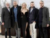 صور.. فستان الممثلة الأمريكية جنيفر لورنس يثير ضجة فى لندن