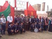 صور.. فعاليات المهرجان الكشفى الـ39 لجوالة جامعة القاهرة