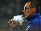 مدرب نابولى يطلب تخصيص غرفة تدخين له فى ملعب لايبزيج