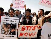 مهاجرون أفارقة يتظاهرون أمام سجن إسرائيلى للمطالبة بالإفراج عن ذويهم