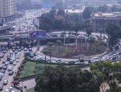 النشرة المرورية.. كثافات متحركة بمحاور القاهرة والجيزة مع دخول الطلاب للمدارس