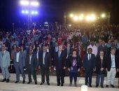 وزيرة الثقافة تشهد ختام مهرجان أسوان الدولى السادس للثقافة والفنون
