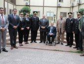 صور.. مساعد وزير الداخلية يزور المجلس القومى لشئون الإعاقة