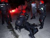 وفاة ضابط شرطة فى اشتباكات بين جمهور سبارتاك الروسى وبلباو باليوروباليج