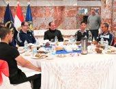 25 صورة من زيارة الرئيس لكلية الشرطة نشرتها صفحة السيسى الرسمية على فيسبوك