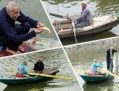 الرزق يحب الخفية.. صيد السمك رزق وغية