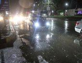 سقوط أمطار غزيرة على مدينتى الغردقة وسفاجا