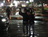 صور.. أمطار غزيرة بالقاهرة والجيزة.. والمرور تناشد المواطنين توخى الحذر